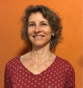 Yogalehrerin Susanne Blank