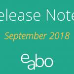 e-abo Release Notes