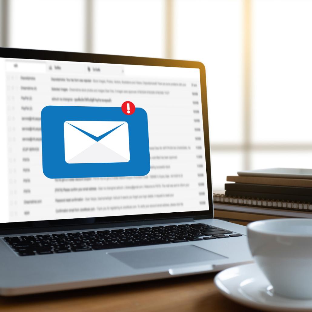 E-Mail-Buchungen