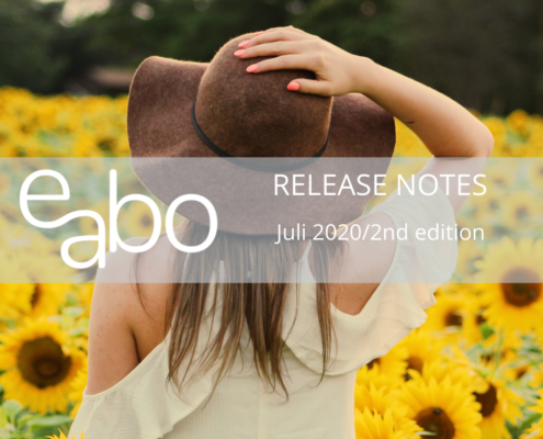 Release Notes Juli 2020 2nd edition