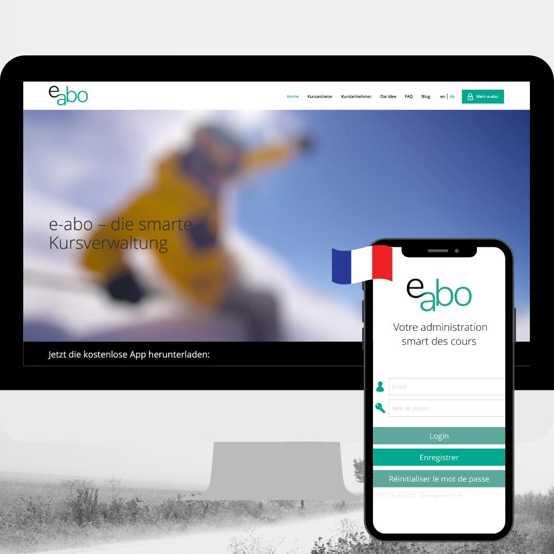e-abo in Französisch